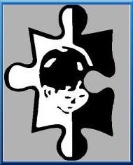 autizmus, értelmi sérültek szimbóluma