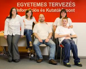 Az ETIKK csapat egy része