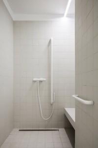 akadálymentes zuhanyzó