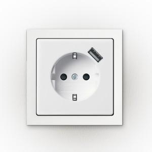 Konnektorba épített USB tötlő