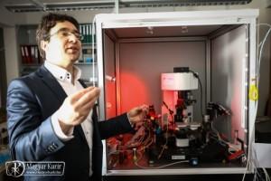 3D-lézermikroszkóp élő szövet készítése