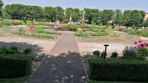 Orientációs park, sétány