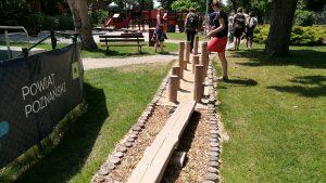 orientációs park, vak gyakorló ösvény