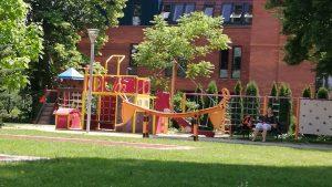 Owinskai kert speciálisan vakok részére tervezett játszótere