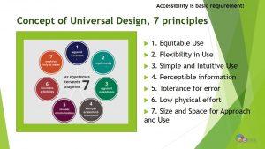 Az egyetemes tervezés 7 alapelve
