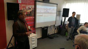 egyesület kerületi vezetői oktatás tablet használatra az etikk irodában